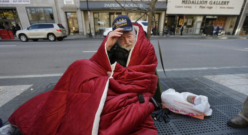 Boston homeless