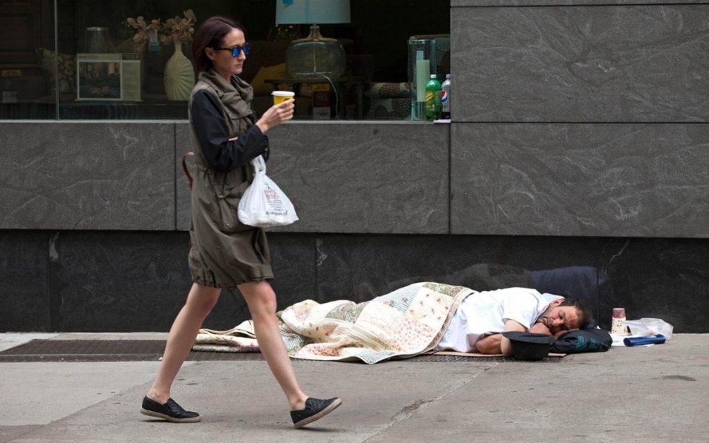New York City homeless
