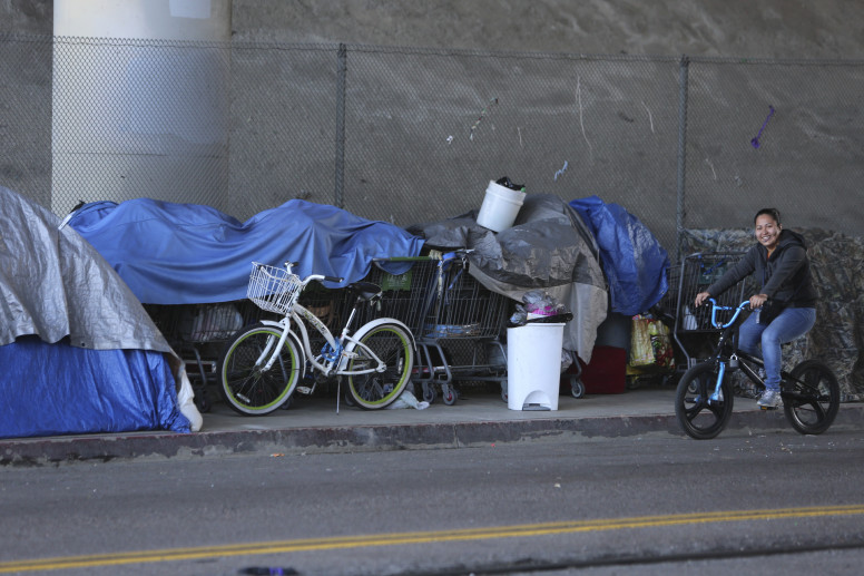 San Diego City homeless