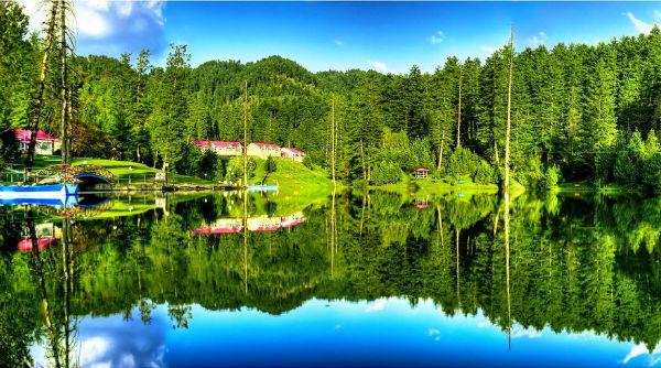 Banjosa Lake Azad Kashmir - Best Camping Sites in Pakistan