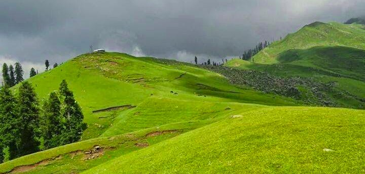 Ganga Choti Azad Kashmir - Best Camping Sites in Pakistan