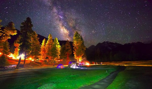 Rama Meadows - Best Camping Sites in Pakistan
