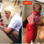 Anja Ringgren Loven and Hope – The Nigerian Boy Rescued One Year Ago Goes to School