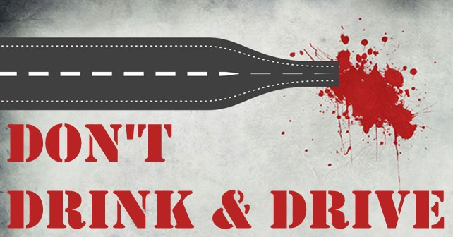 4. Don't drink and drive