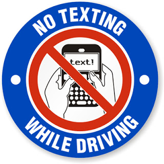 5. Don't text and drive