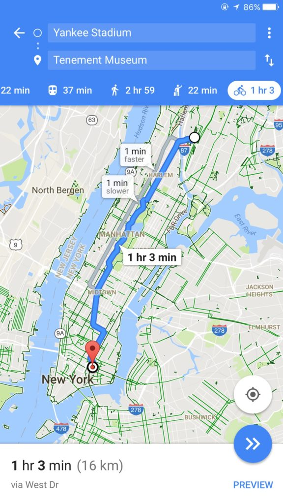 Yankee to Meuseum  - How Google Knows About live Traffic