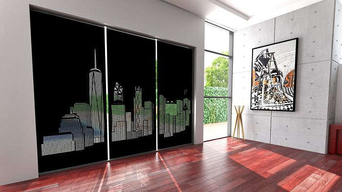 Blackout Curtains by HoleRoll