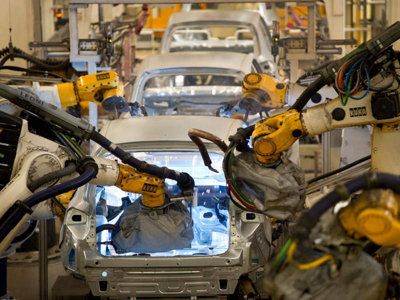 Worker killed by robot in welding accident